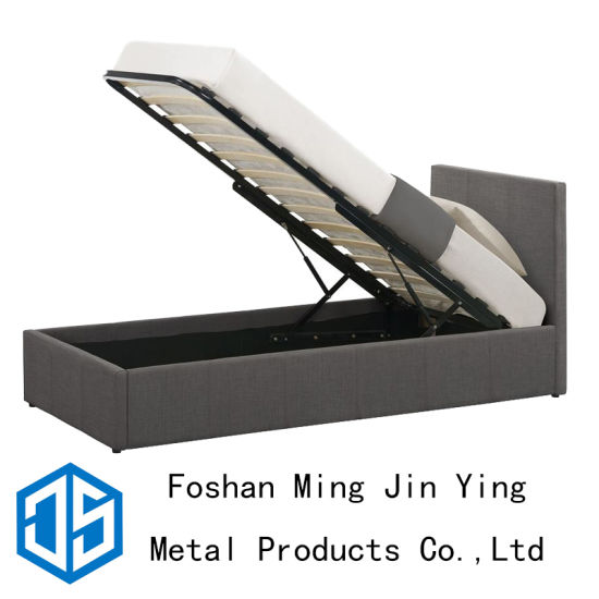 China Single Pneumatic Slat Bed Frame Used for Home Furniture (A003 ...