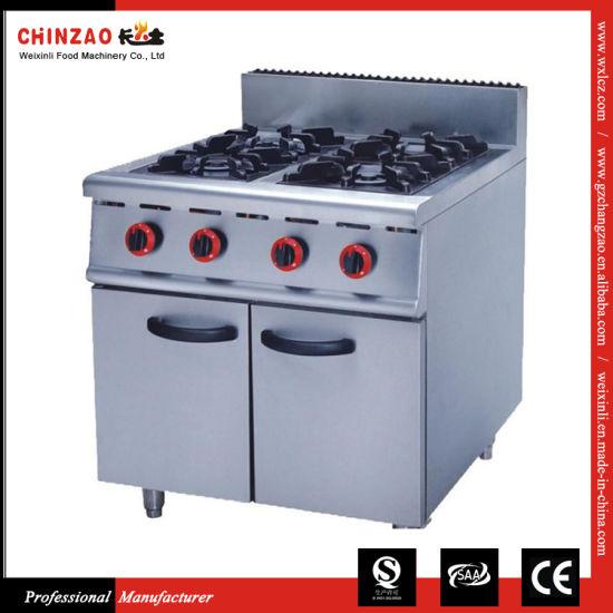 Standing Commercial Gas Burner Restaurant Gzl-4t