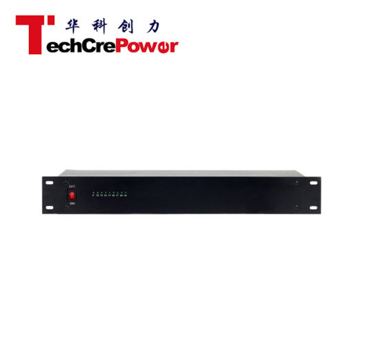 Ztp1210-09p-1.5u 12V Rack Mount Power Supply 9 Channel 10AMPS pictures & photos