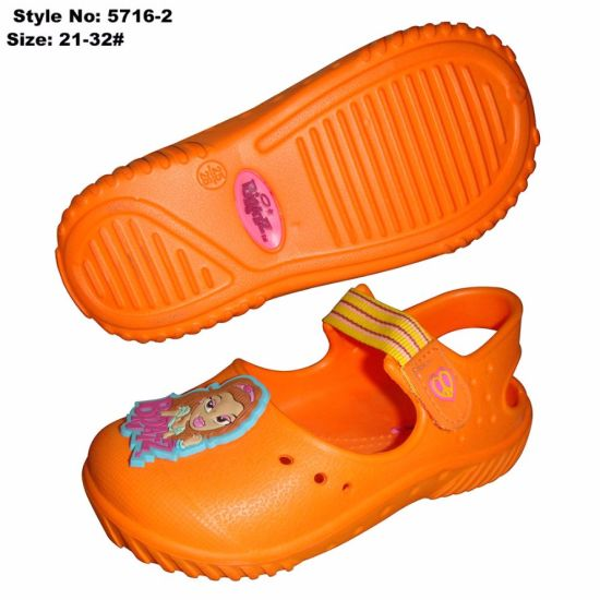 EVA Girl Kid Sandal with Charm, Girls Fancy Sandals pictures & photos