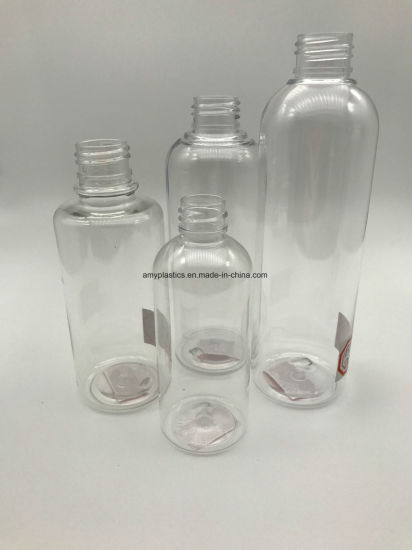 Artistic and Hight Quality, Transparent Plastic Bottles for Liquid Products pictures & photos