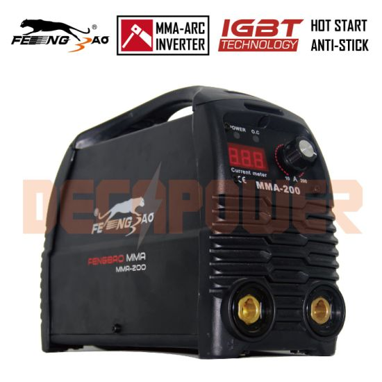 IGBT 160A Arc Welder Inverter Electrode 4.0mm MMA Welding Machine pictures & photos