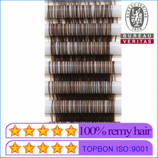 New Style Hair Product Tube Hair Extensions-4 Loops 300 Roots pictures & photos