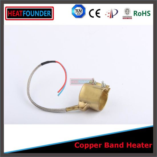 25X25mm Electrical Nozzle Brass Band Heater for Injection Moulding Machine pictures & photos