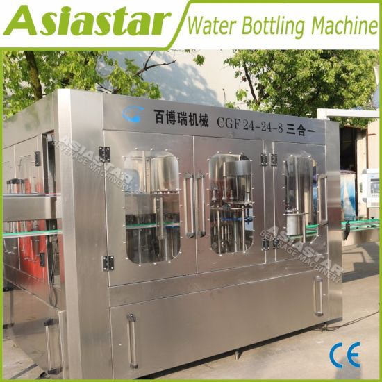 8000bph Fully Automatic Drinking Water Bottling Machine