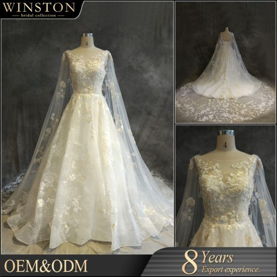 China Oem Manufacturers Wedding Dresses Plus Size With Sleeves