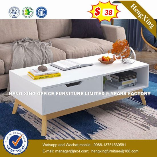 Fashion Furniture Elegant White Coffee Desk With Economic Living Room Hx 8nr0960