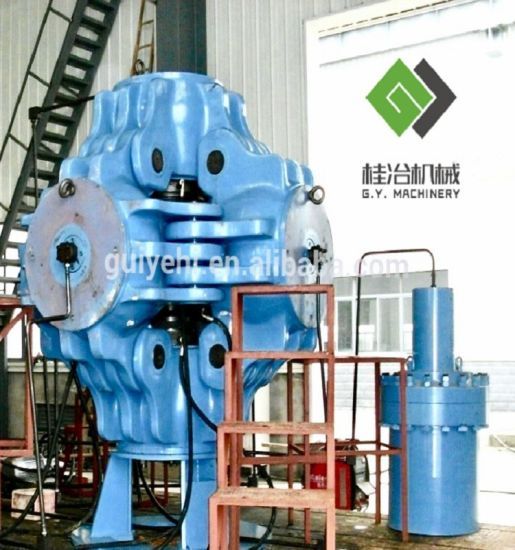 China Engineered Diamonds Cubic Hydraulic Press with Special Heat