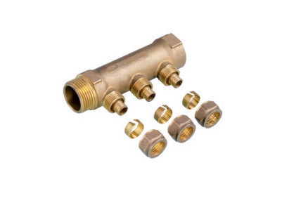 Brass Forged Manifold for Underfloor Heating