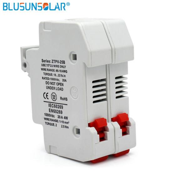china solar pv 2p fuse holder 1000v dc 10x38 gpv fuse box china household fuse box solar pv 2p fuse holder 1000v dc 10x38 gpv fuse box