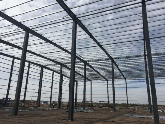 customized prefabricated industrial shed steel structure designs for godown