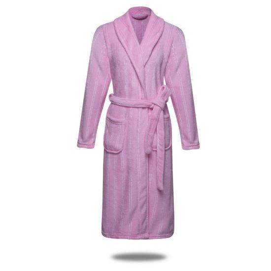 be99bfa22b China Coral Fleece Robe with Bright Yarn - China Bath Robe