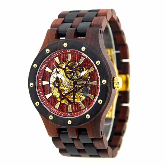 Private Label Wrist Watch Automatic Mechanical Watches for Wholesale pictures & photos