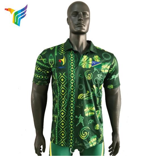 2018 High Quality Sublimation Custom Polo Shirt Golf Polo Shirt Design for  Mens 7a652f8b5