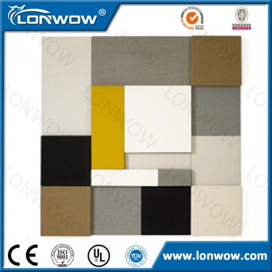 Wall Fabric Acoustic Panels Fiberglass Sound Absorbing Panel