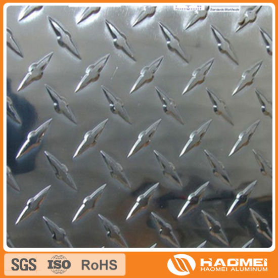 Diamond Pattern Embossed Aluminum Coil 1100 1060 3003 pictures & photos