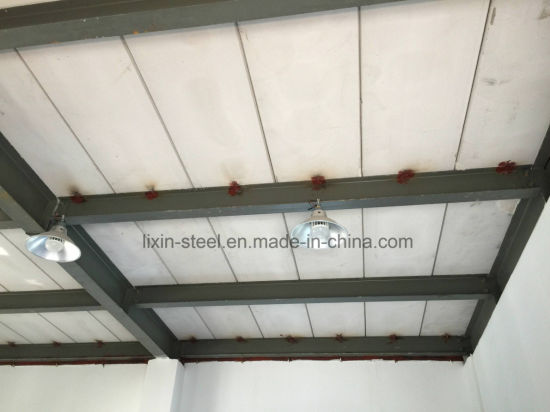 Quick Build Prefabricated Steel Structure Frame House Building with Alc  Board