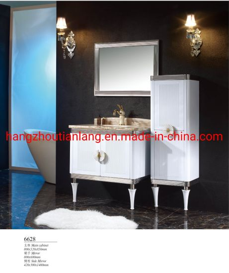 Stainless Steel Modern Hotel Bathroom Furniture Wall Mounted Toilet Cabinet
