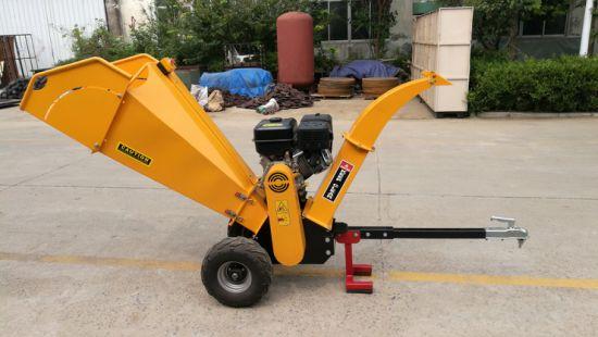 13HP Petrol Tree Branches Chipping Machine Shredder
