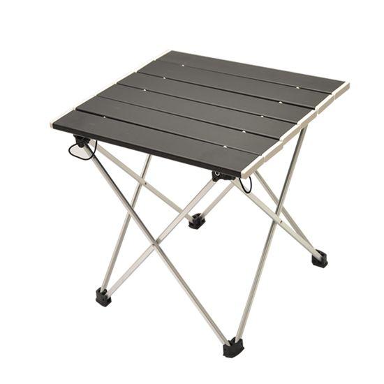Folding Camping Table and Stool Lightweight Portable Outdoor Aluminium Frame Bag