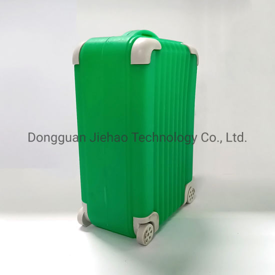 BSCI Disney Certified Factory Wholesale Custom Promotion Mini Soft Rubber PVC Luggage Box