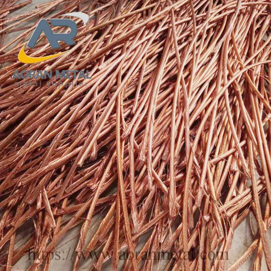 99.99% Copper Wire Scrap with Good Quality