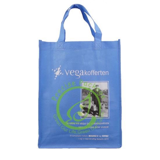 Mignon PP Non Woven Handle Cartoon Recycle Carry Bags Shopping Reusable