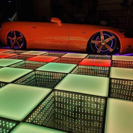Guangzhou Fairy Wedding RGB Dancing Floor with LED 3D Dancefloor Lights for Sale