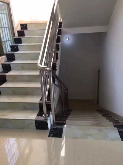 China Supplier Glazed Polished Porcelain Stairs Tile