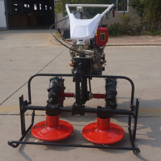 Rotary Disc Mower for Tiller Cultivator Hot Selling in Russia