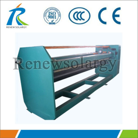 Non-Welding Solar Water Heater Production Machine (seam pressing)