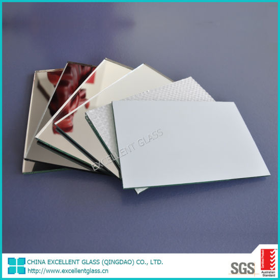 2mm-10mm Silver Mirror/Copper Free Mirror with or Without Safety Film