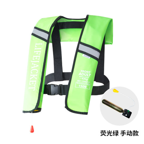 Manual and Automatic Inflatable Lifejacket Ce Approval Solas Standard pictures & photos