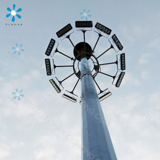 300W High Mast Lighting Tower for Tunnel, Mining Night Lighting pictures & photos