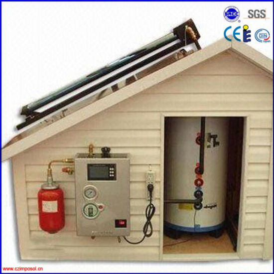 300L Vacuum Tube Stainless Steel Hot Water Heating Collector System pictures & photos