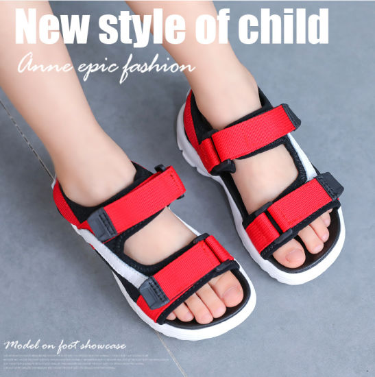 Korean Fashion Casual Shoes Summer New Boys Girls Sandals Size 21-30