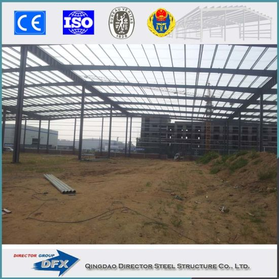 Insulated Prefabricated Storage Sheds Steel Industrial Shed Construction pictures & photos