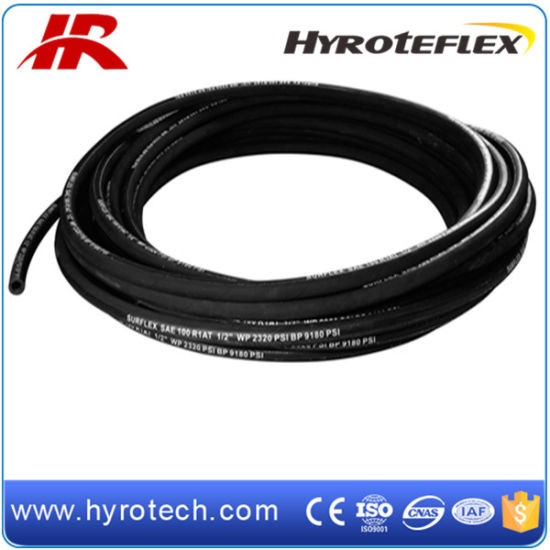 Rubber Hydraulic Hose SAE 100r1at Made in China