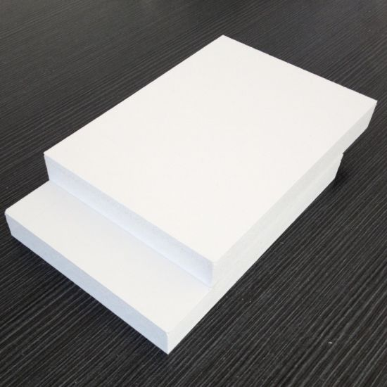 High Quality White Glossy PVC Foma Sheet PVC Hard Sheet, Plastic Sheet pictures & photos