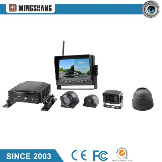 4CH 1080P Car Mobile DVR System, Support GPS, 3G/4G, WiFi pictures & photos