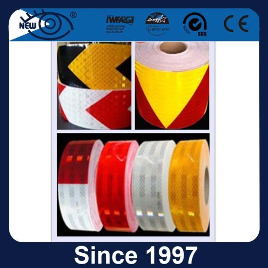 Pressure Sensitive Adhesive High Intensity Truck Reflective Tape pictures & photos