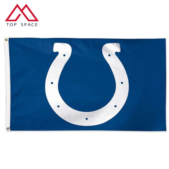 Sports Cheering Banner Polyester NFL Indianapolis Colts Flag