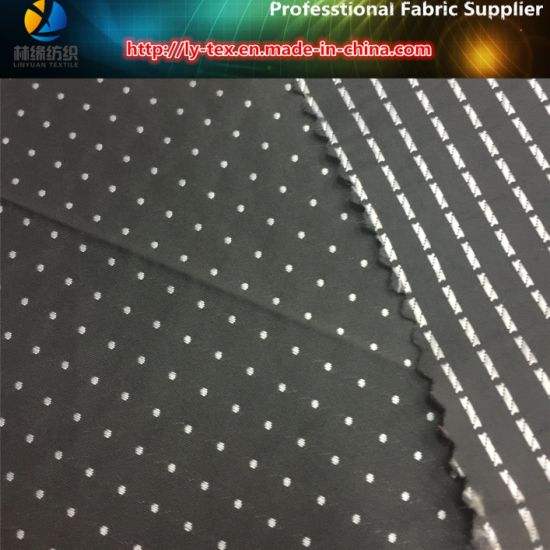 Yarn Dyed Fabric in White DOT for Garment (YD1184) pictures & photos