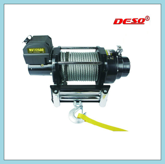 Elctric Cable Pulling Windlass or Winch pictures & photos