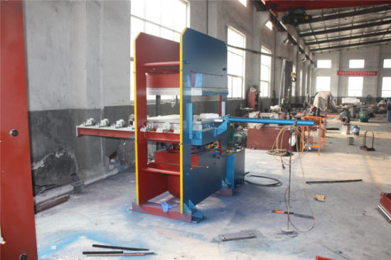 Hydraulic Press/Rubber Bridge Bearing Hot Platen Press/ Rubber Machine pictures & photos
