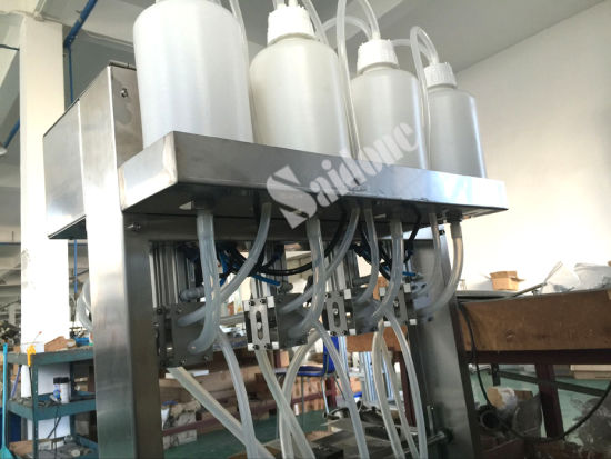 Semi-Automatic Vacuum Filling Machine and Packing Machine for Water pictures & photos