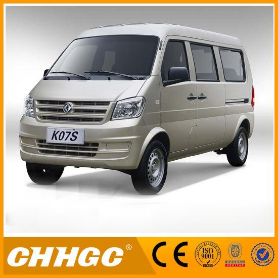 7 Seats 8 Seats 11 Seats Gasoline Commercial Vehicles Mini Van with Emark Mini Bus