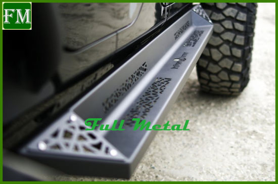 2/4 Door Steel Blade Rocker Slider Side Step for Jeep pictures & photos
