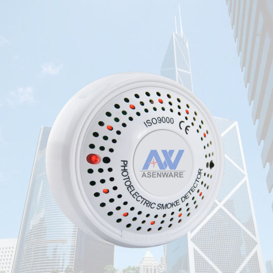 Aw-Csh832 Asenware Conventional Fire Alarm Combined Smoke and Heat Detector  with Strobe Sounder