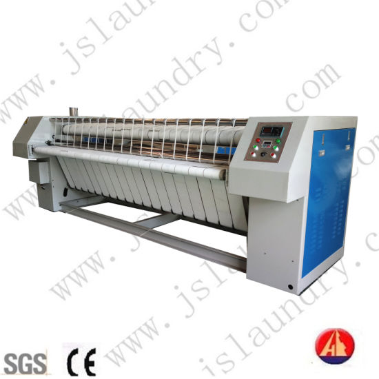 Steam Heated Bedsheet Linen Calender Flatwork Roll Ironer Machines for Hotels Hospital or Laundry Shop